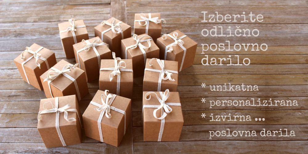 Izberite pravo poslovno darilo
