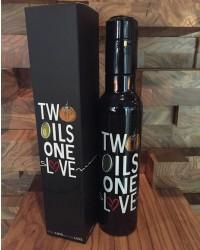 združena oljčno olje in bučno olje