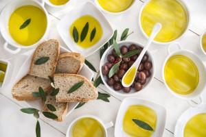 oljčno olje s kruhom